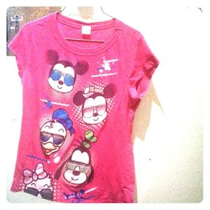 Girl's Mickey Mouse T-Shirt